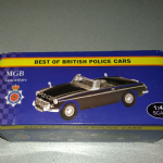 Atlas editions Best of British police cars  MGB Lancashire Police 1:43